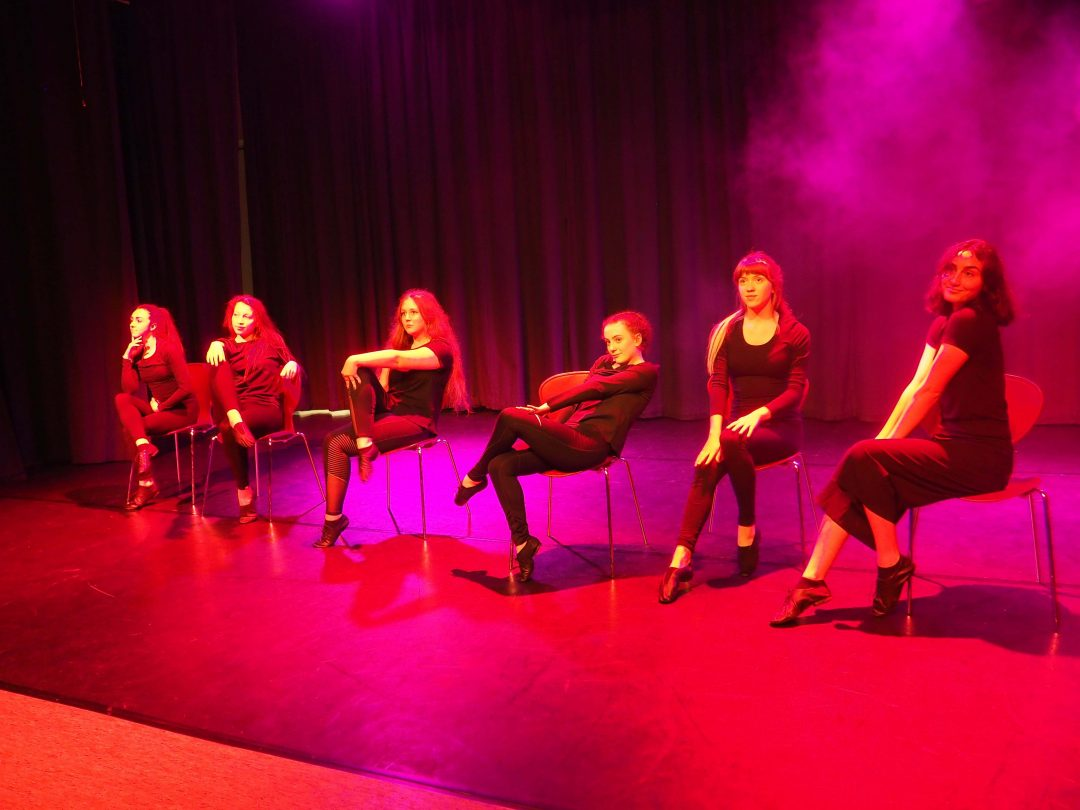 Year 12 performing Don't Tell Mamma from Cabaret