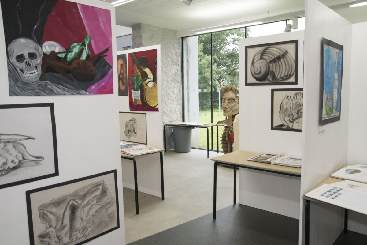 Gallery of students' work
