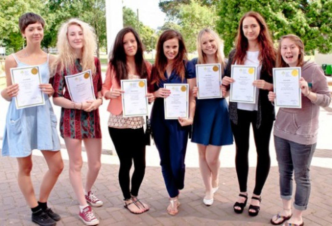 L-R: Fiona Maltby, Abigail Charnley, Kadie Gambles, Lauren Hanslip, Anna Spence, Bethany Tucker and Emma Griffin