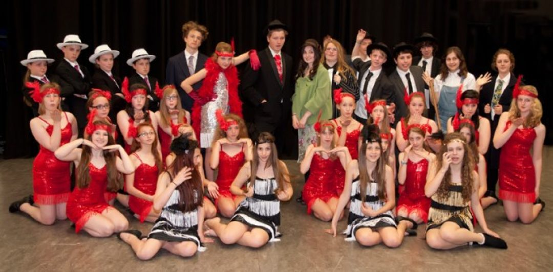 The Bugsy Malone cast
