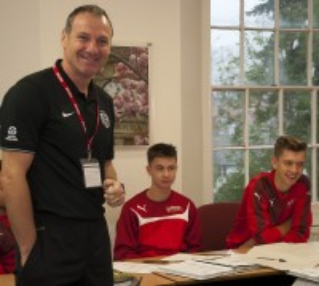 Alex Watson Football Academy in class Newton Abbot College Ofsted Good