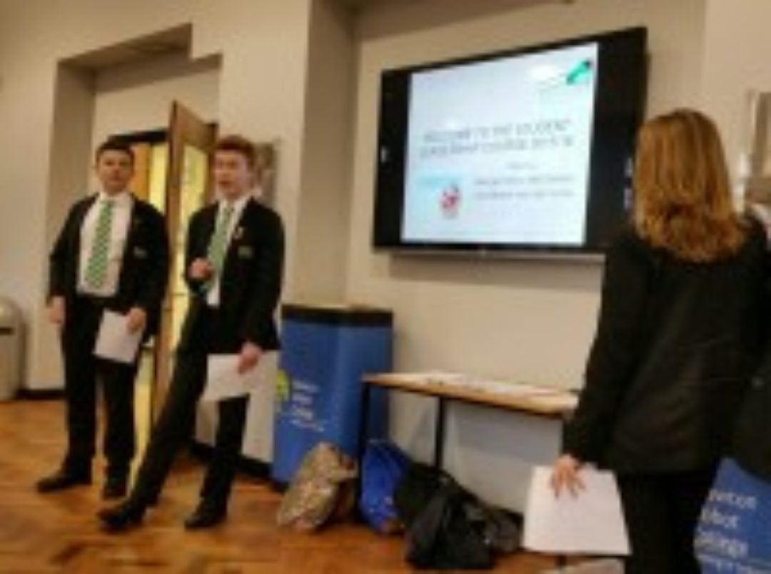 Leadership Course Newton Abbot College Prefects Ofsted Good