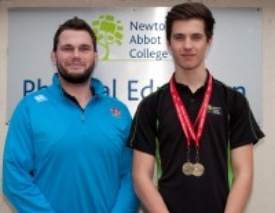 Newton Abbot College Tommy D'Cruz Athletics Champion Ofsted Good Secondary School