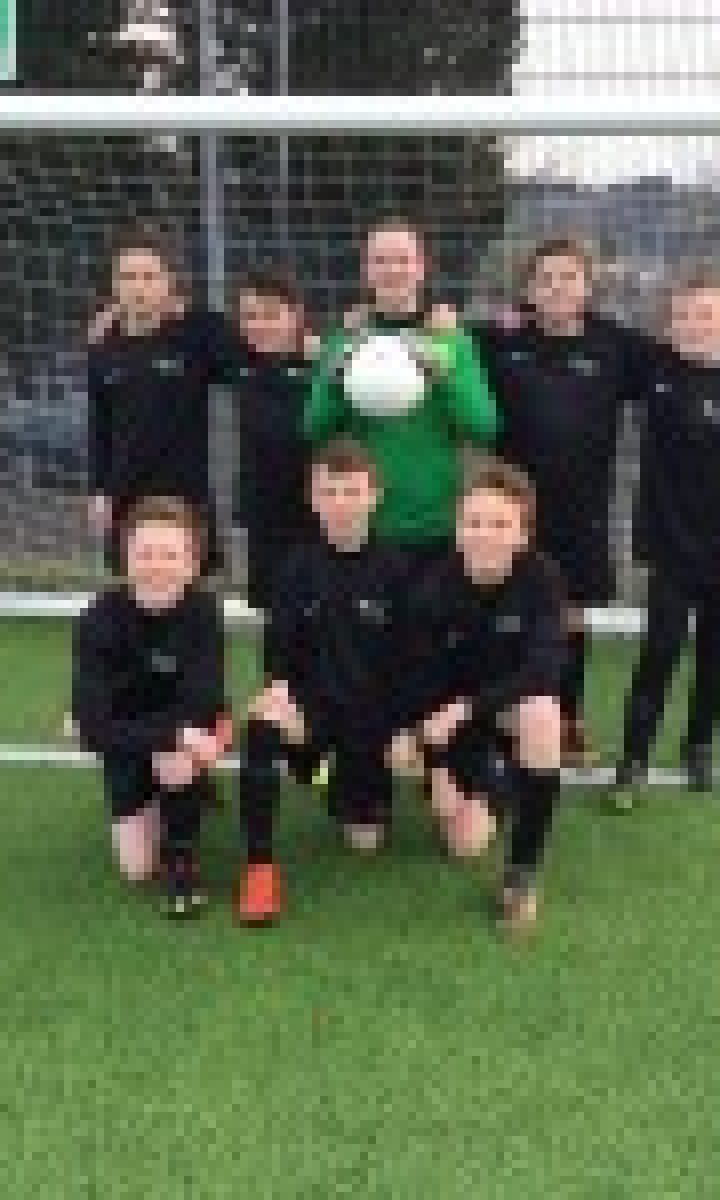 Year 7  Football 6 A Side Tournament  Newton  Abbot  College  Ofsted  Good 200X150
