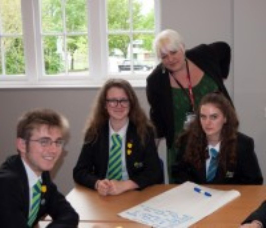 Parliamentary Master Class Newton Abbot College Ofsted Good Secondary School