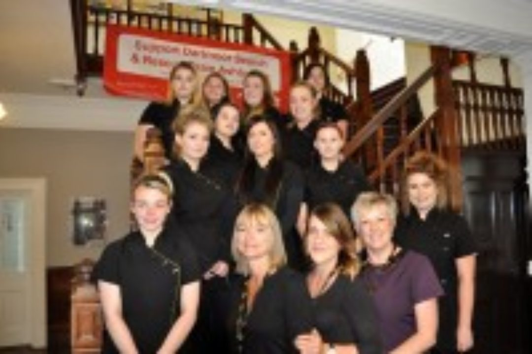 Newton Abbot College Hair and Beauty Students and Trainers Ofsted Good Vocational Courses