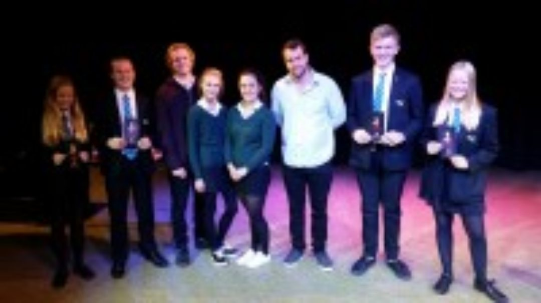 newton-abbot-college-students-and-alterego-actors-ofsted-good-secondary-school