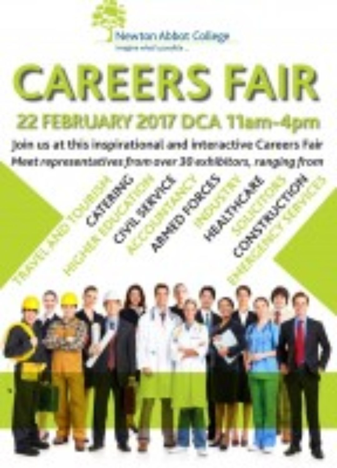 Careers Fair Newton Abbot College Ofsted Good Secondary School