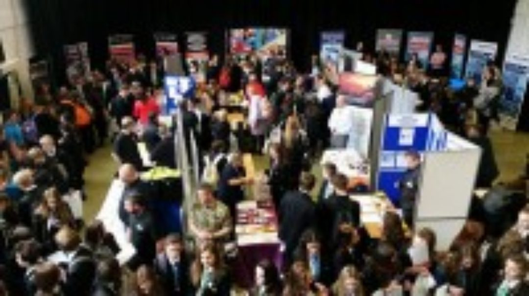 Newton College Careers fair Ofsted Good Secondary School Devon