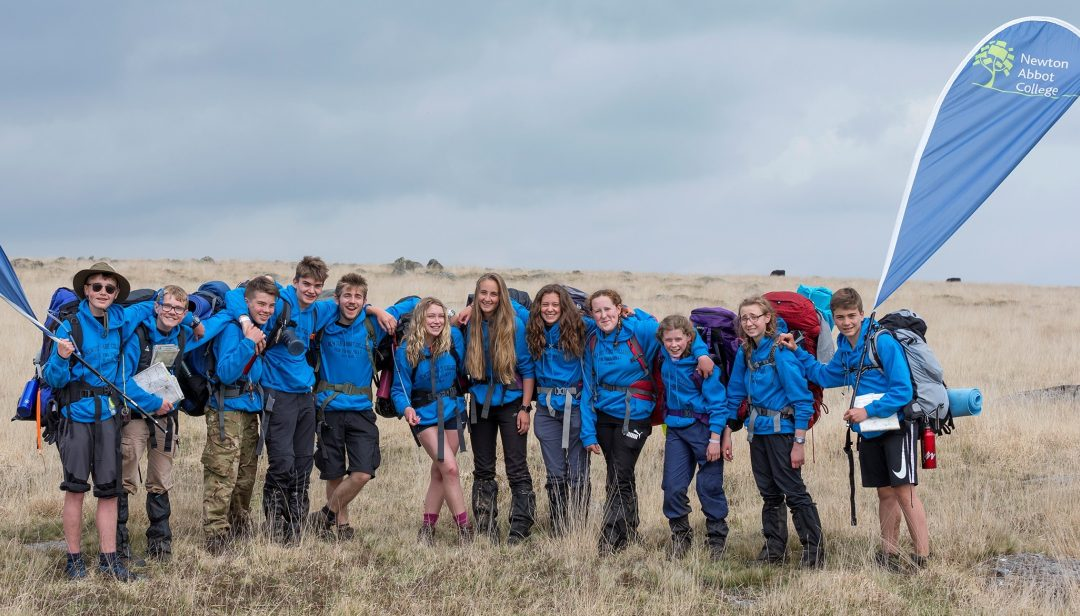 Newton Abbot College's Two Ten Tors Teams