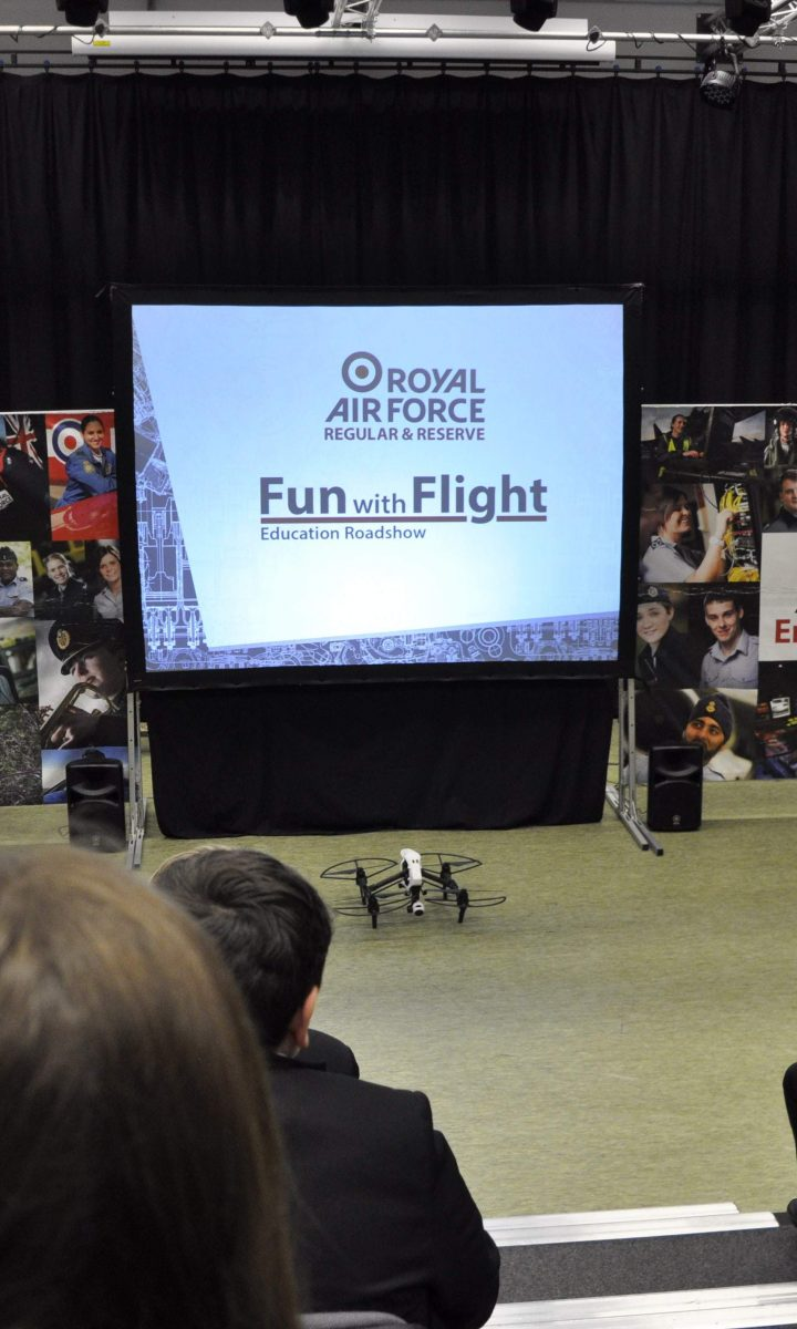 Fun With Flight Raf Roadshow Newton Abbot College Ofsted Good Secondary School
