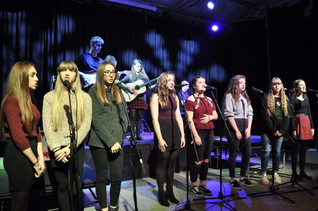 Performances by different Key Stage Vocal Groups were incredible
