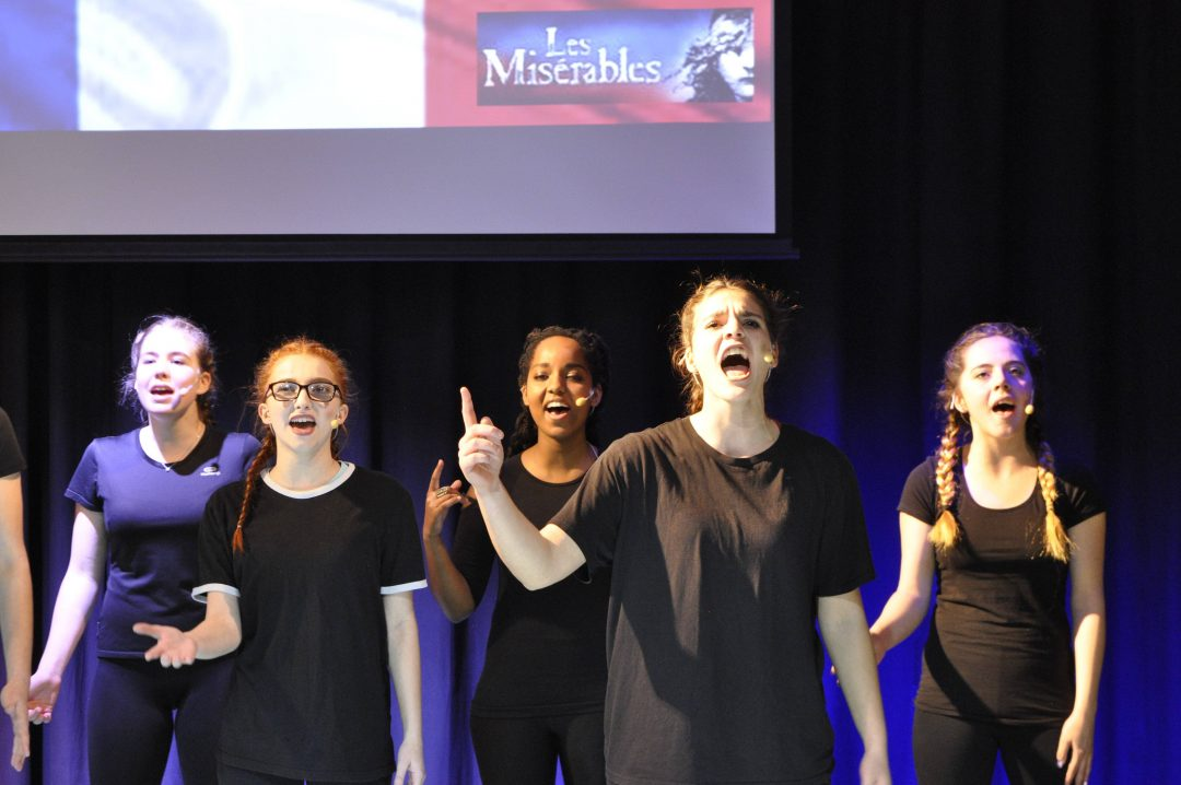Students performed a huge array of musical numbers from a wide range of shows