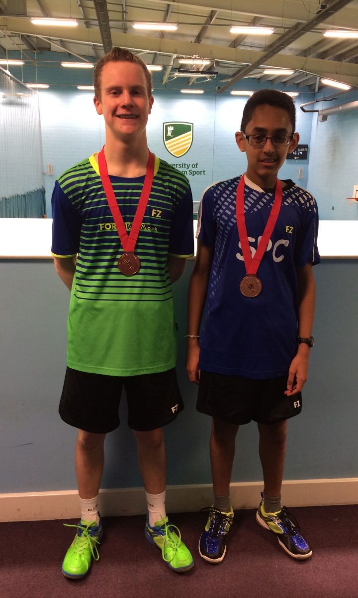 U15 Badminton Gold Newton Abbot College Ofsted Good Secondary School 1