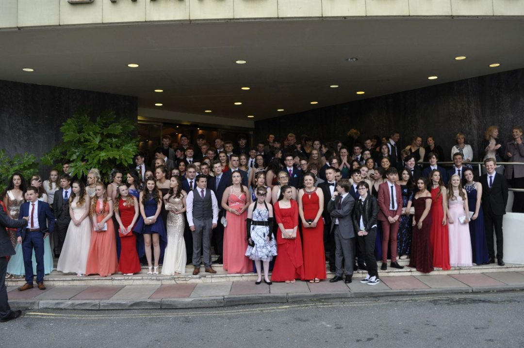 The College's Year 11 students at their Prom