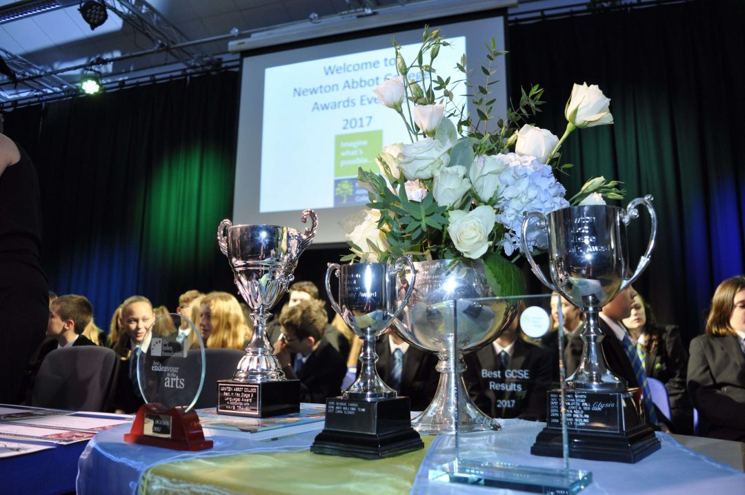 An array of awards were presented throughout the evening.