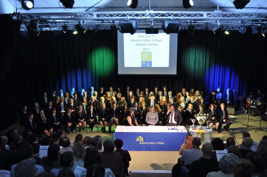 Newton Abbot College's highly anticipated Awards Evening