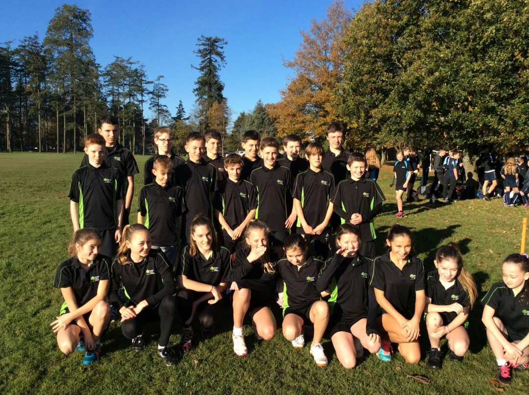 The College's Talented Cross Country Runners at Stover