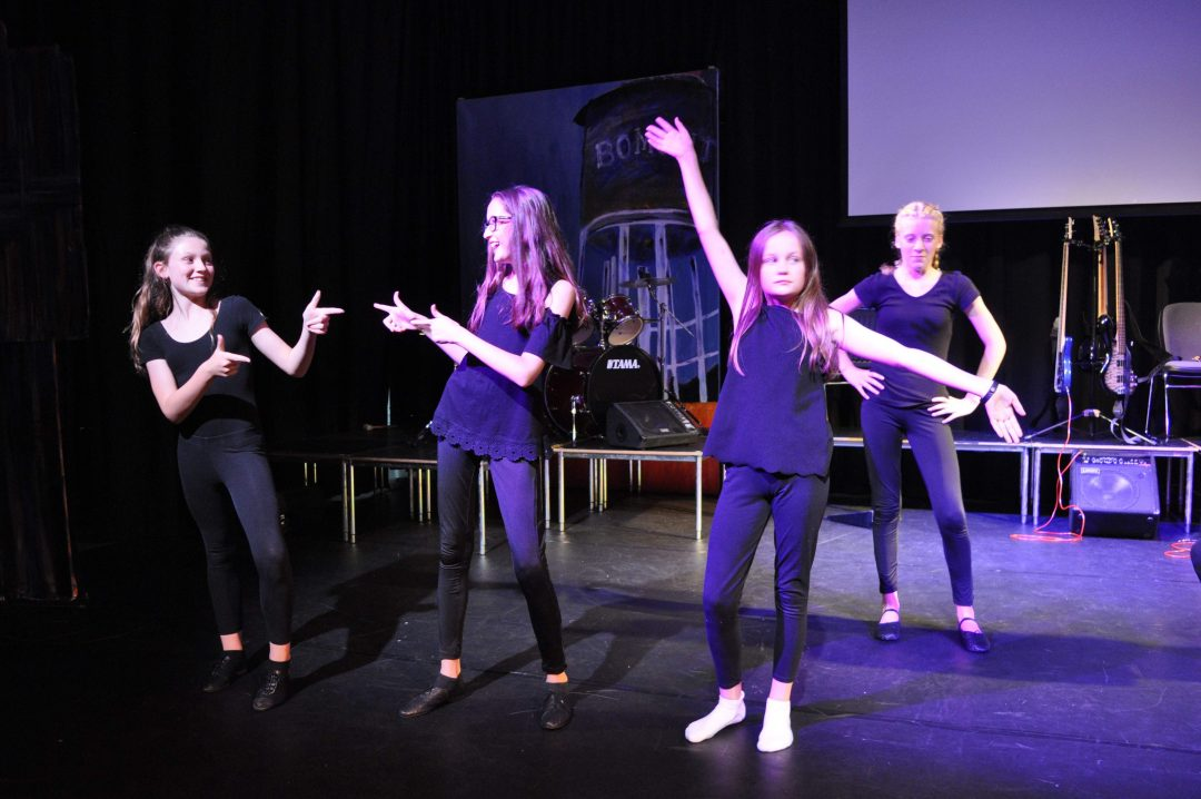 Dance performance at the Arts Awards