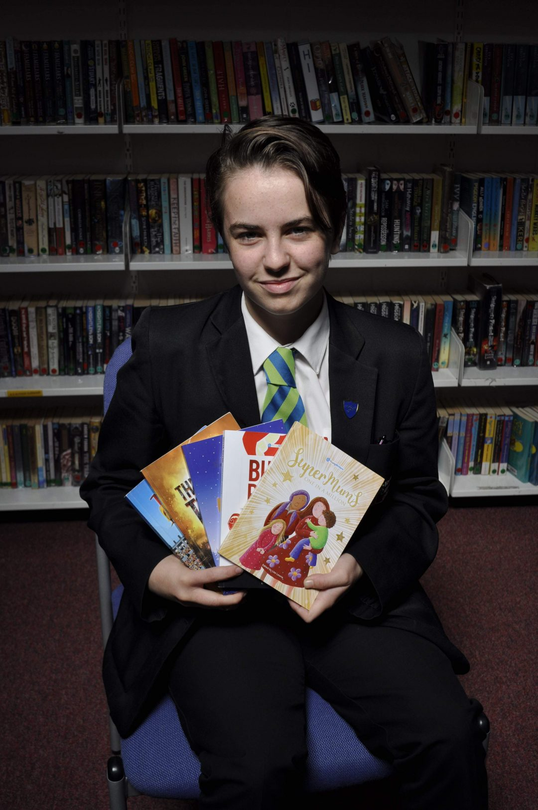 Year 11 Prefect and published poet, Willow Bryant