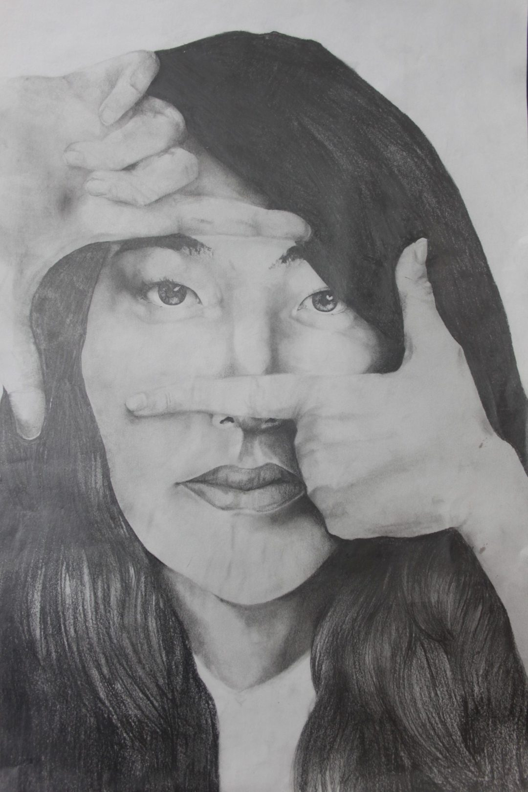 Elysia Stent's self-portrait