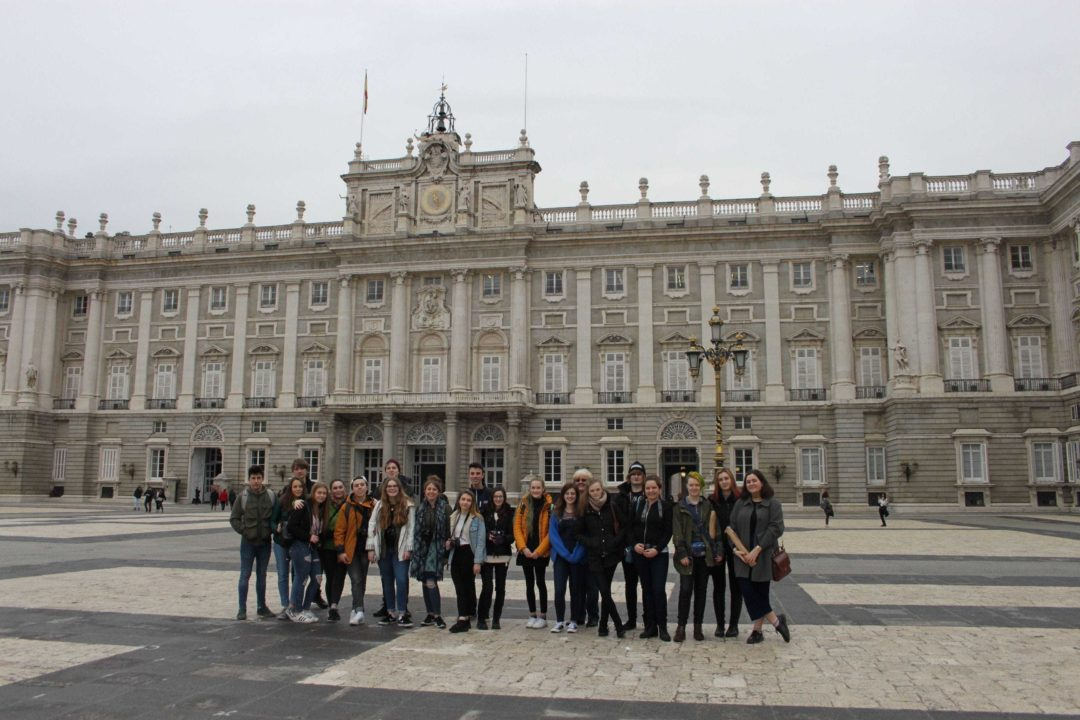 Year 12 and 13 Art and Photography students visit Madrid