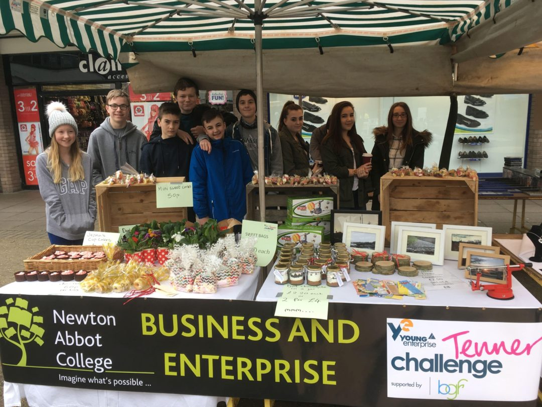 Year 9 Business Students at the Market