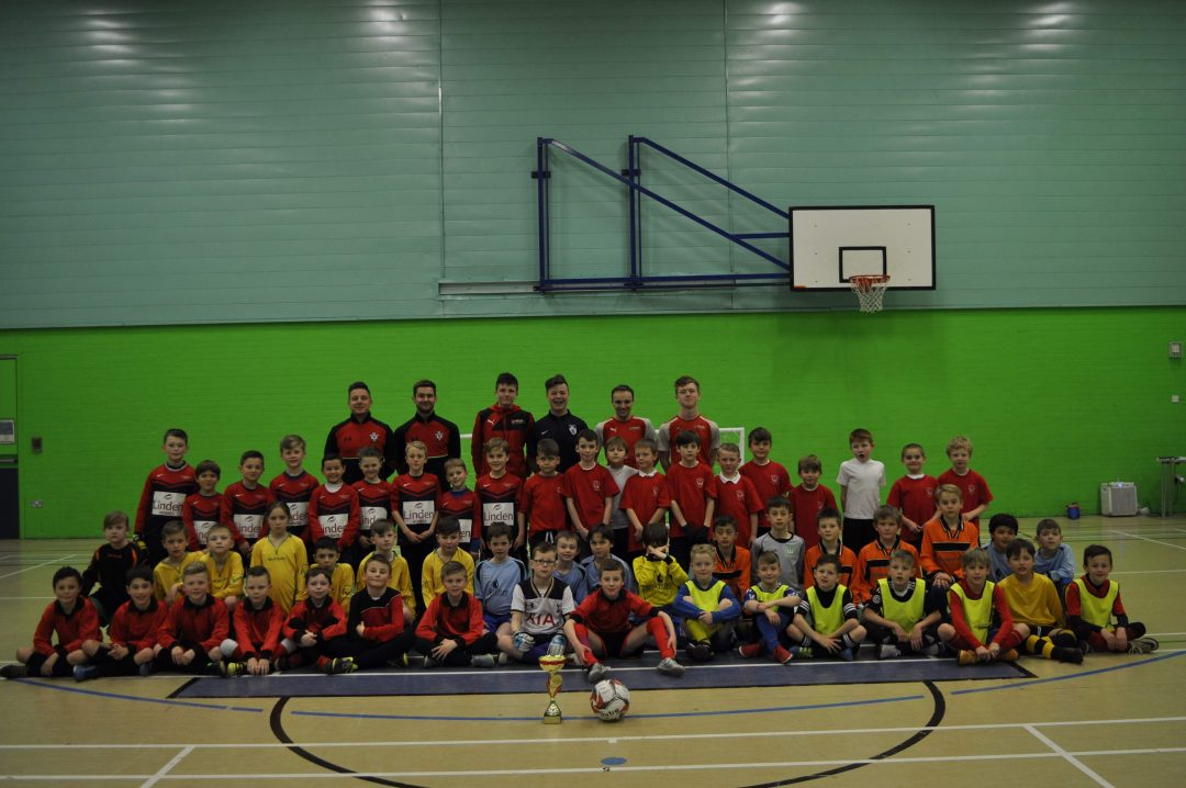 Primary School Futsal Teams came to Newton Abbot College