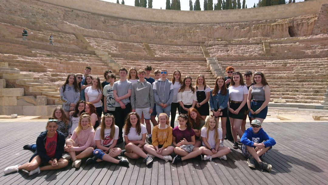 Students immersed themselves in the language and culture of Spain