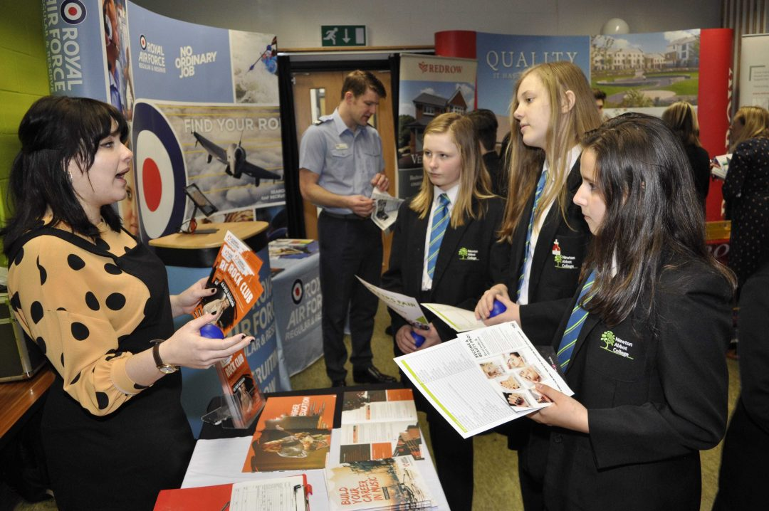 Students had the opportunity to meet with a wide range of industry professionals