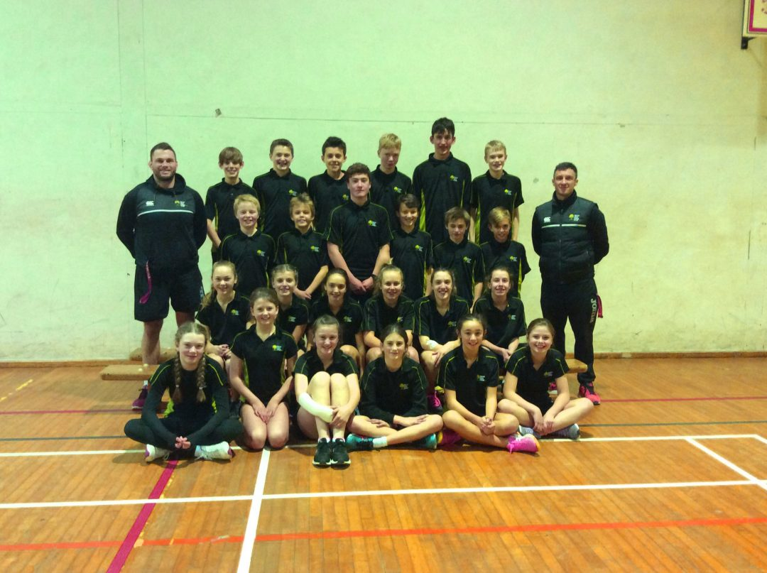 The College's Year 7 & 8 Athletics Teams