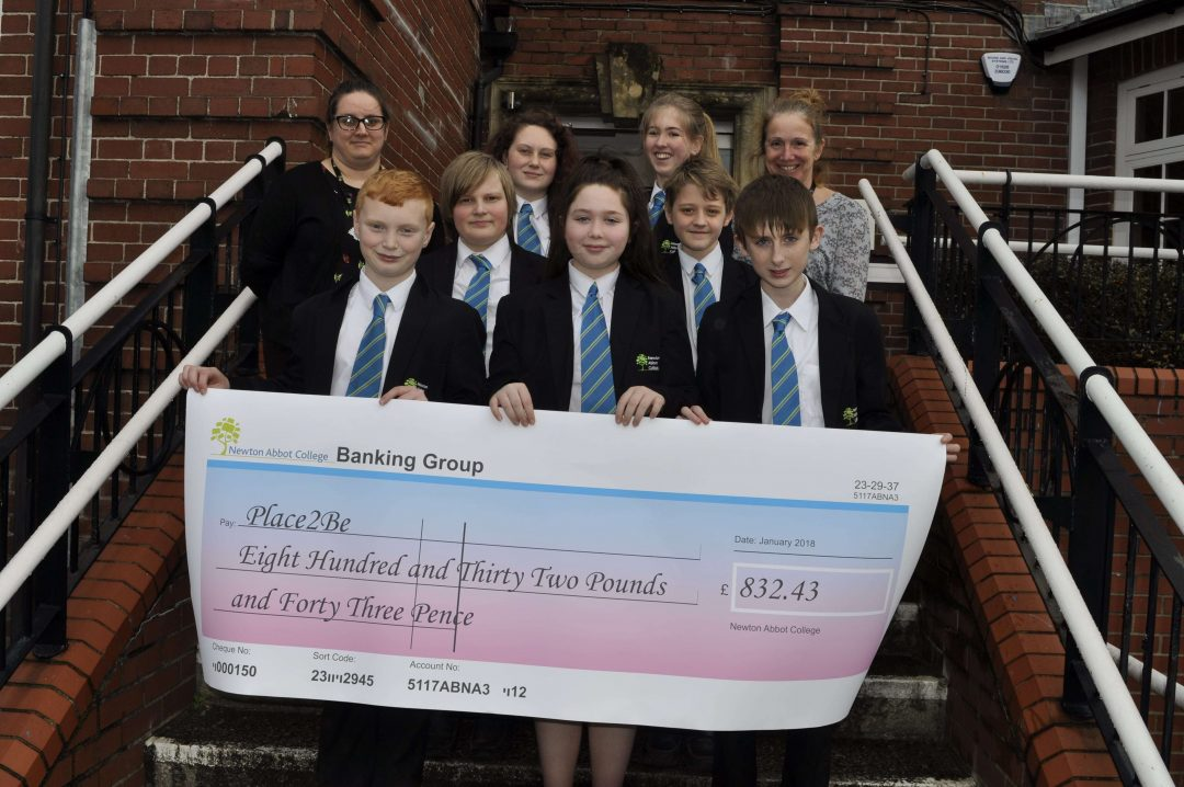 Students and staff raised an incredible £832.43 for chosen charity, Place2Be