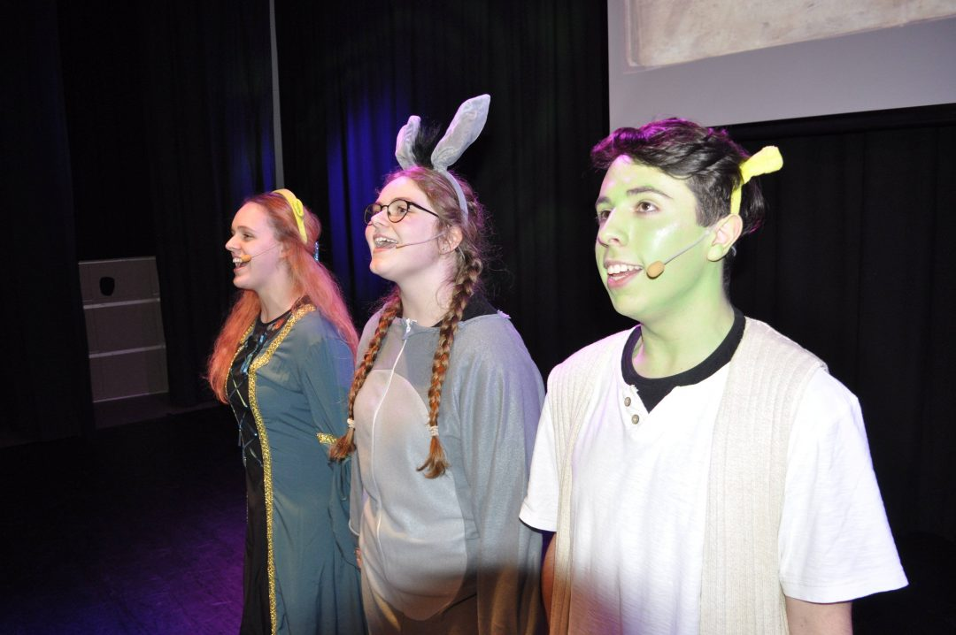 Jake Herrera performed as Shrek in the hilarious musical