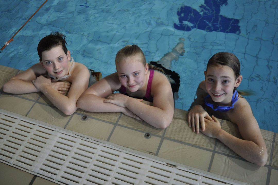 Students took part in the annual swimming gala