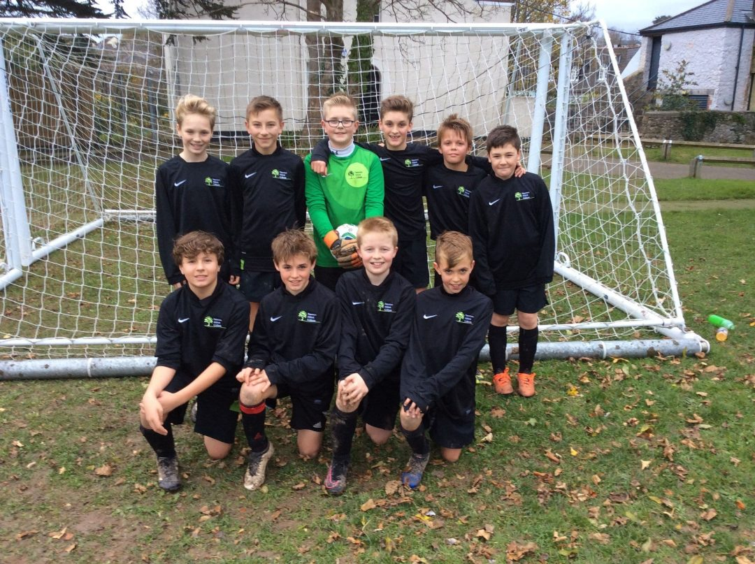 Year 7 boys' Football Team