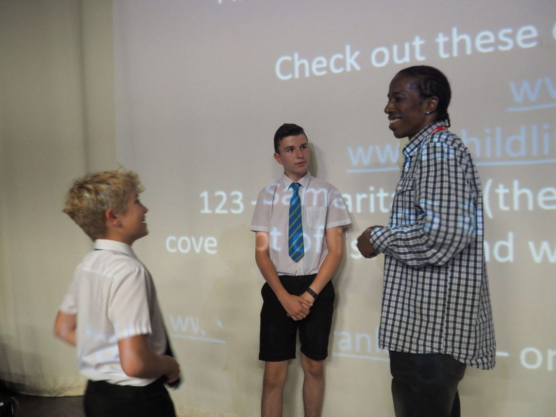 Students had the opportunity to meet with Mr Smart after the presentation