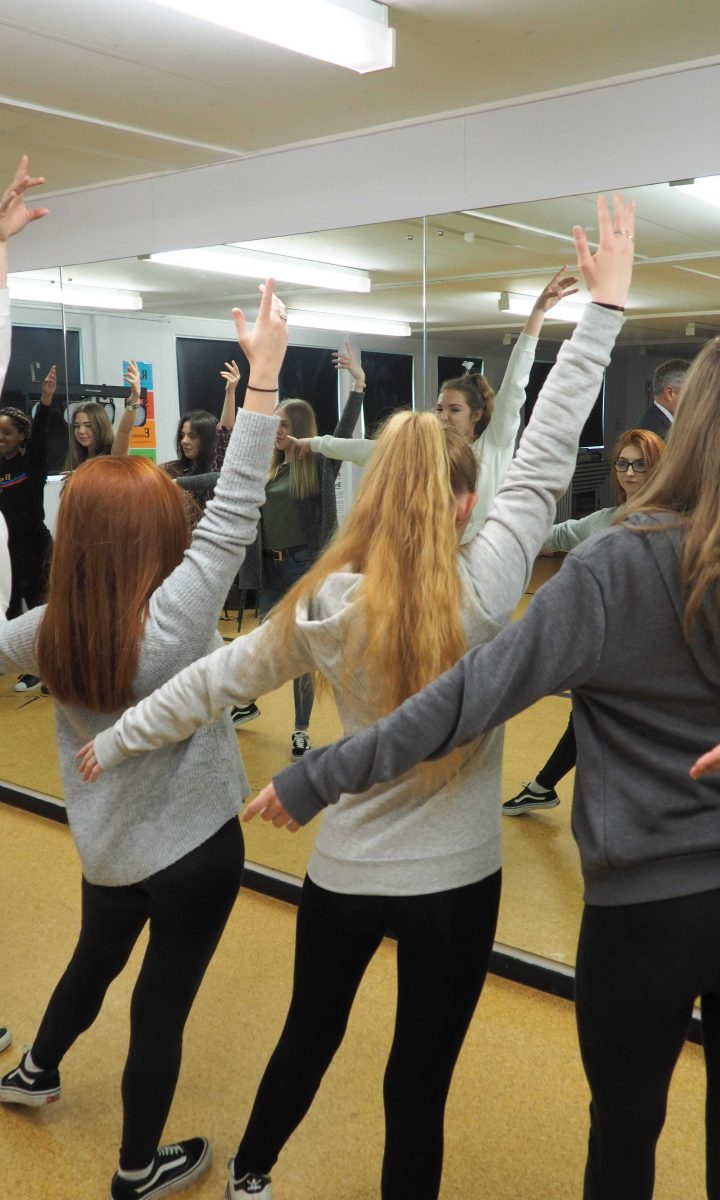 Dance Studion Newton Abbot College Ofsted Good Secondary School 2