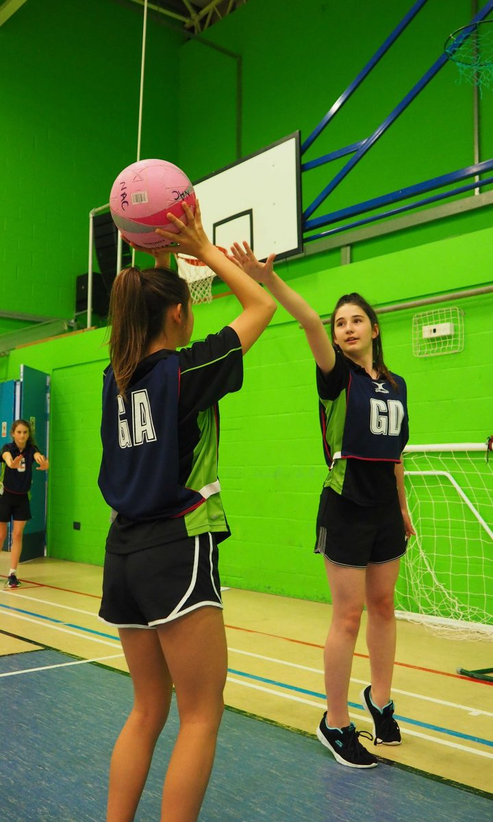 Netball Newton Abbot College Titans Ofsted Good Secondary School 1