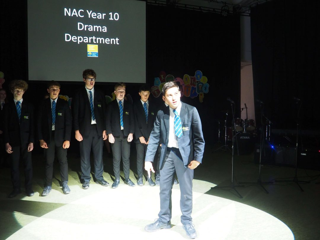 Year 10 Drama Students Performed a Powerful Piece about Suicide