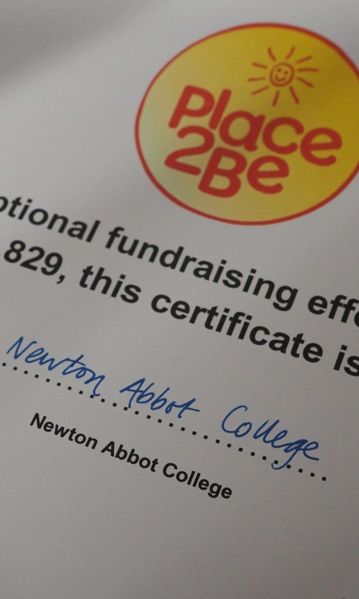 Place2 Be Fundraising Newton Abbot College Ofsted Good Secondary School 2