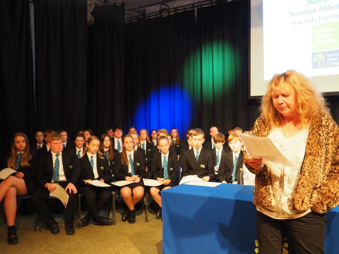 The College was joined by former Teacher of Drama and published author, Judy Leigh