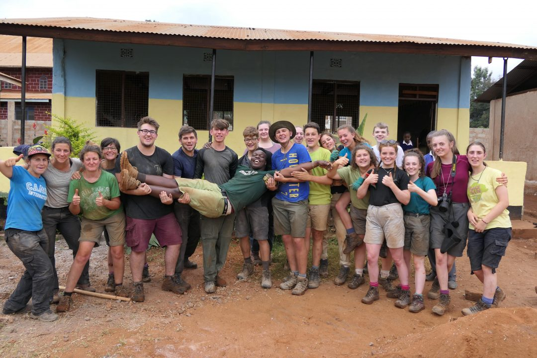 Students were involved in important conservation work in local communities