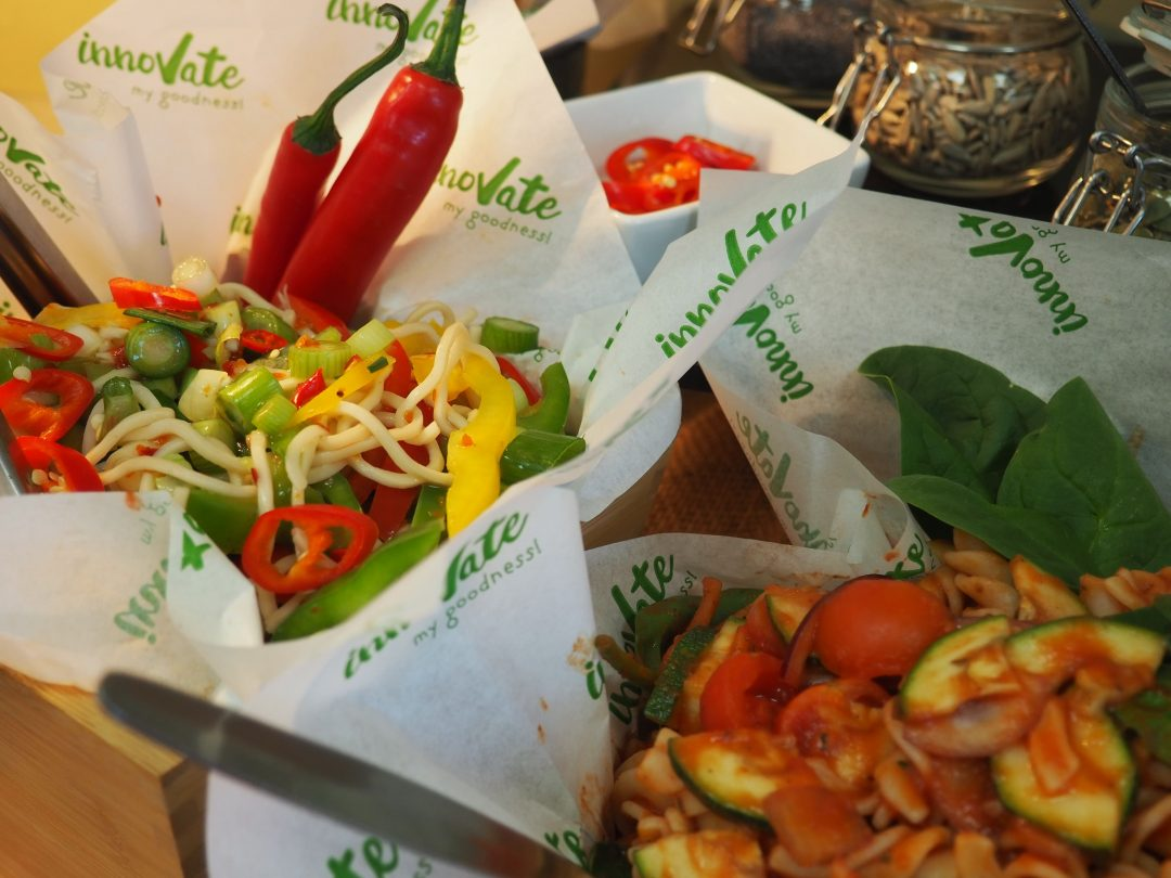 The new menu offers freshly made sandwiches, salads and paninis