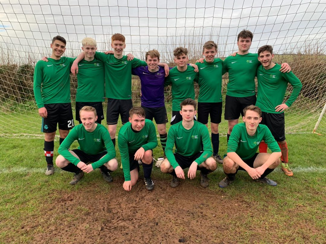 The newly formed Sixth Form First XI football team