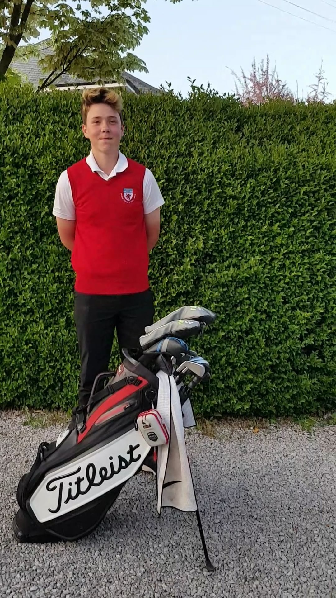 Rising Golf Star, Louis Leonard