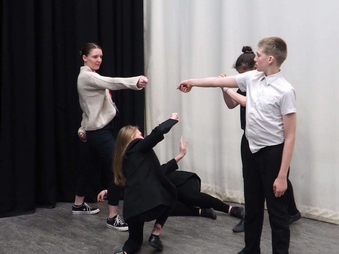 The completed devised piece will be performed at the Exeter Northcott Theatre