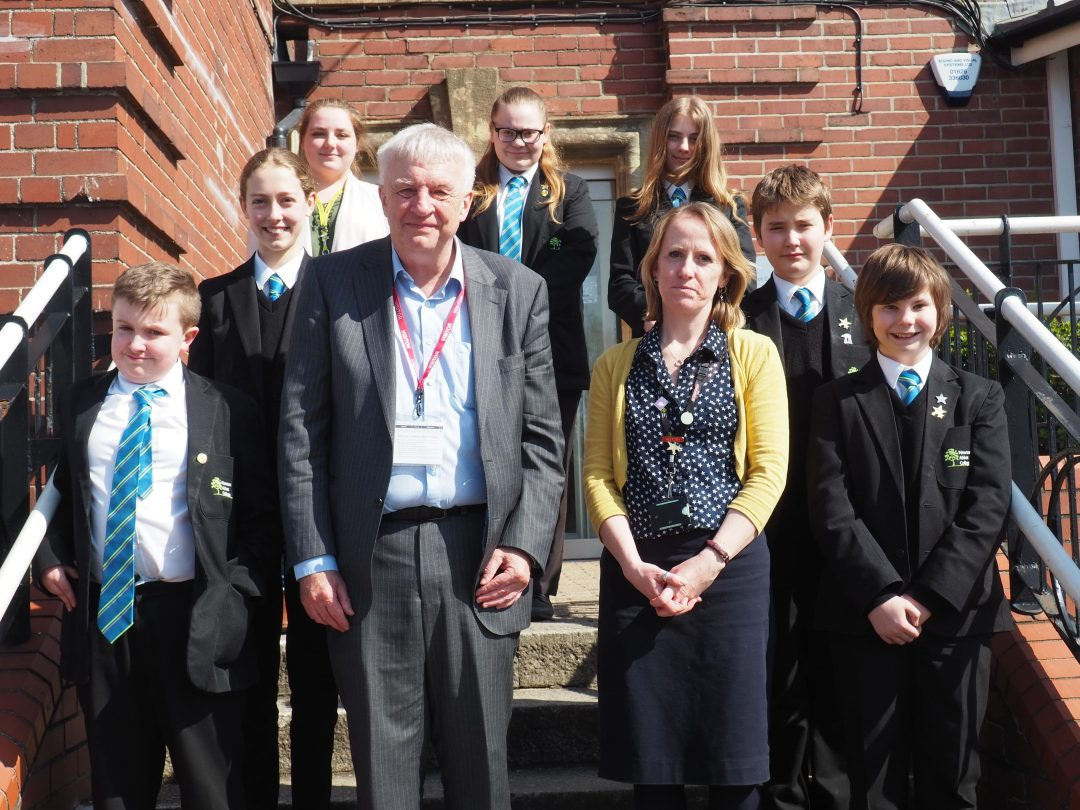 Dr Tim Lomas visited the History Department and College Ambassadors
