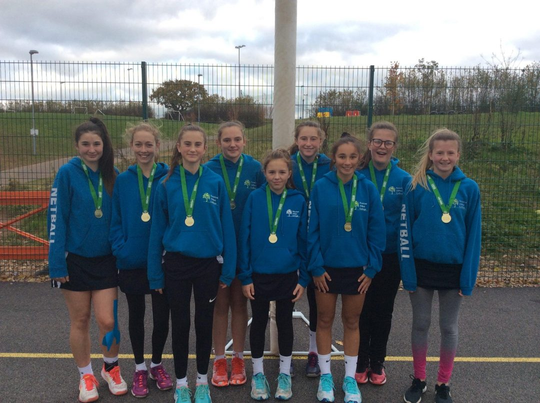 The College's U14 County Winning Netball Team