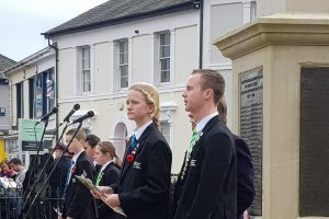 Remembrance 2019 Newton Abbot College Ofsted Good Secondary S Chool 3
