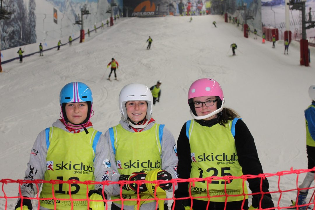 L-R Jasmine Drew, Izzy Drew and Ellie Brooks